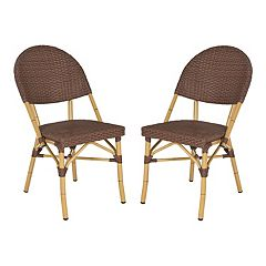 Safavieh 2 pc Barrow Stackable Chair Set - Indoor & Outdoor