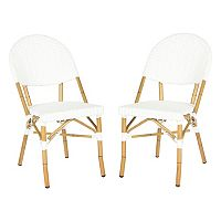 Safavieh 2-pc. Barrow Stackable Chair Set - Indoor & Outdoor