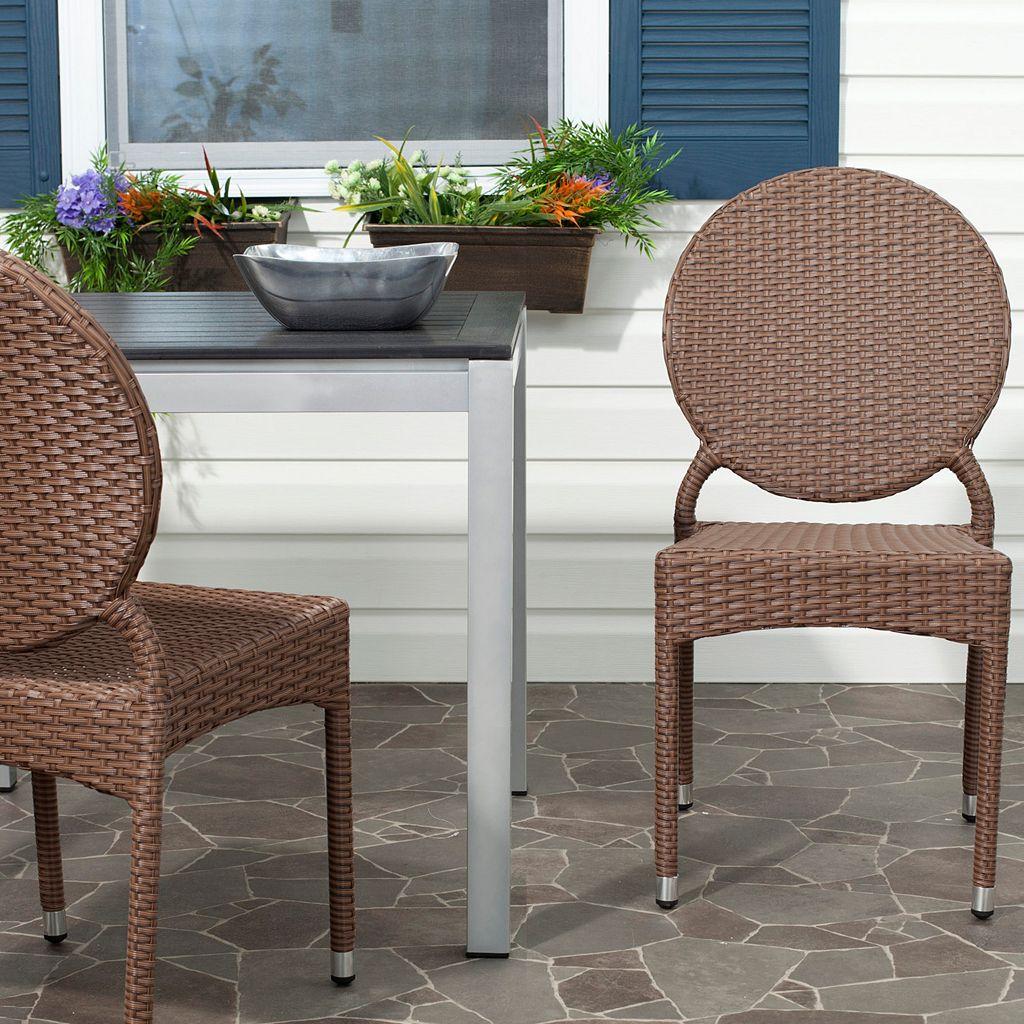 Safavieh 2-pc. Valdez Stackable Chair Set - Indoor and Outdoor