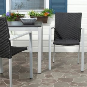 Safavieh 2-pc. Cordova Stackable Chair Set