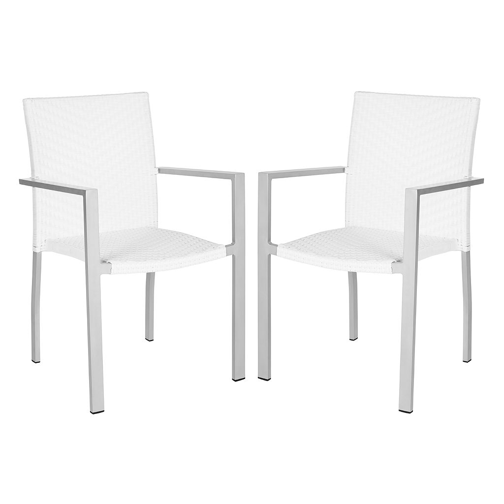 Safavieh 2-pc. Cordova Stackable Chair Set