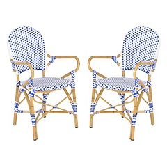 Safavieh 2-pc. Hooper Stackable Chair Set - Indoor & Outdoor