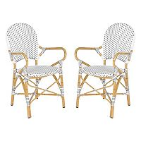 Safavieh 2 pc Hooper Stackable Chair Set - Indoor & Outdoor
