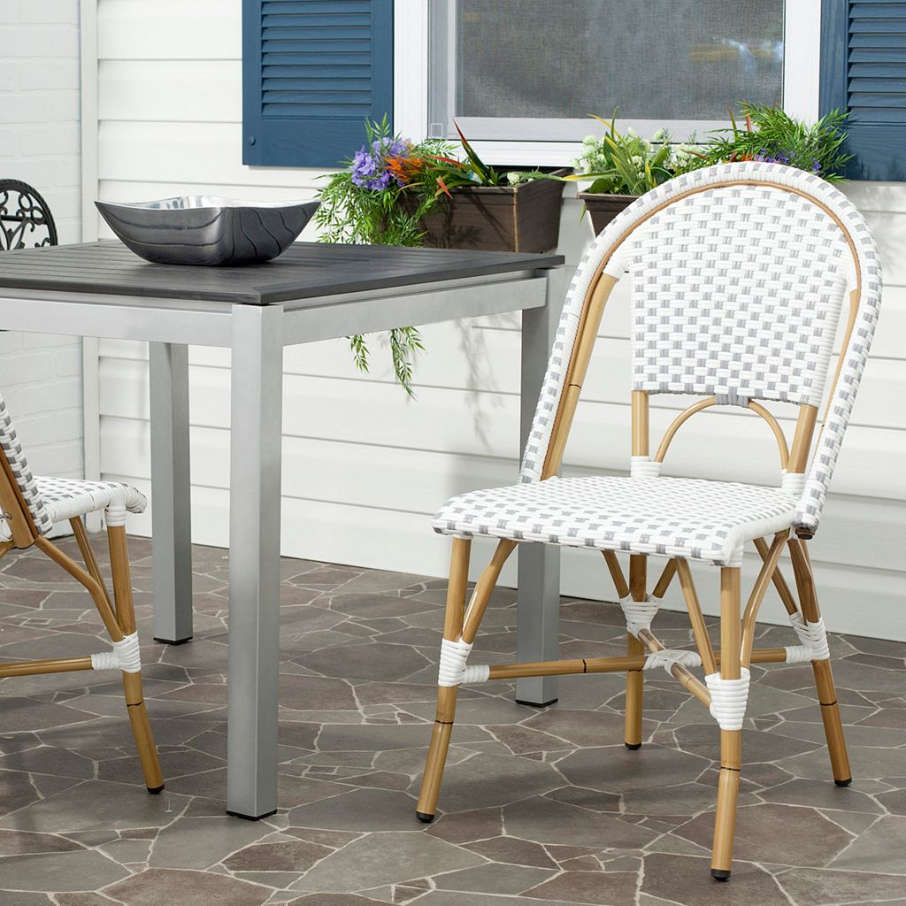 Safavieh 2-pc. Salcha Stackable Chair Set - Indoor and Outdoor
