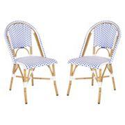 Safavieh 2 pc Salcha Stackable Chair Set - Indoor & Outdoor