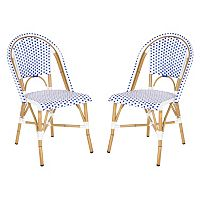 Safavieh 2 pc Salcha Stackable Chair Set - Indoor & Outdoor