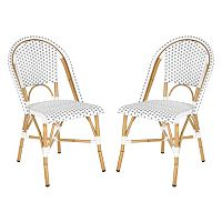 Safavieh 2-pc. Salcha Stackable Chair Set - Indoor & Outdoor