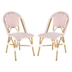 Safavieh 2-pc. Salcha Stackable Chair Set - Indoor and Outdoor