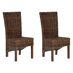 Safavieh 2-pc. Ridge Side Chair Set