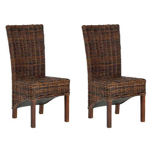 Safavieh 2-pc. Ridge Side Chair Set