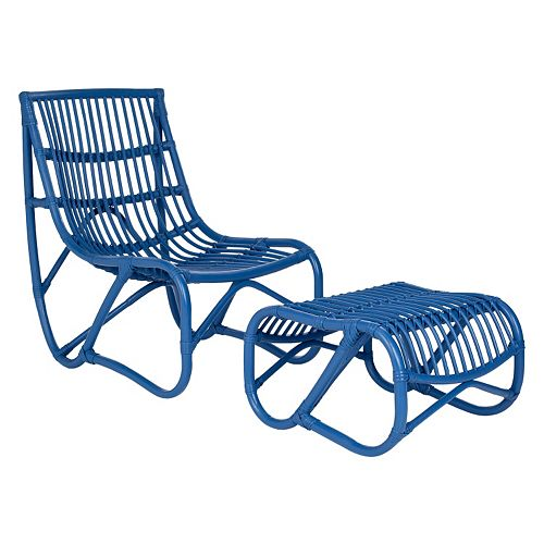 Safavieh 2-pc. Shenandoah Chair & Ottoman Set