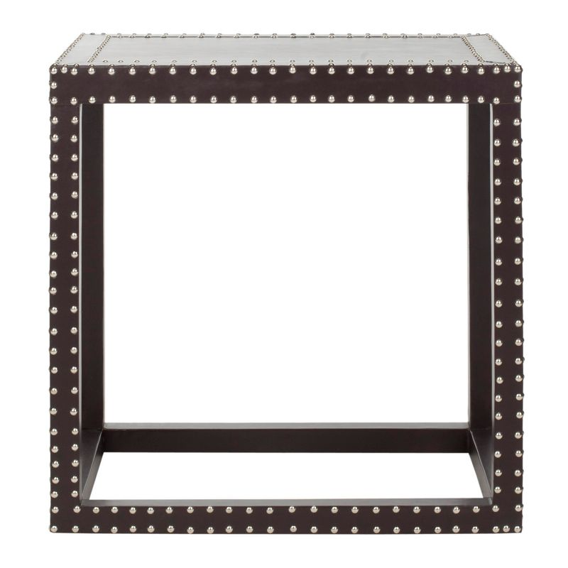 Safavieh Lena End Table, Grey (Charcoal)