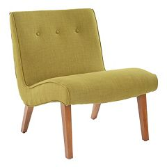 Safavieh Mandell Pea Green Chair