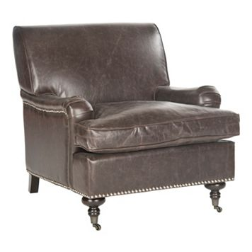 Safavieh Chloe Faux-Leather Club Chair