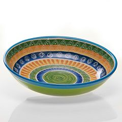 Certified International Tapas by Joyce Shelton Studios 13-in. Pasta Serving Bowl
