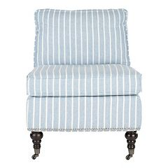 Safavieh Randy Striped Slipper Chair
