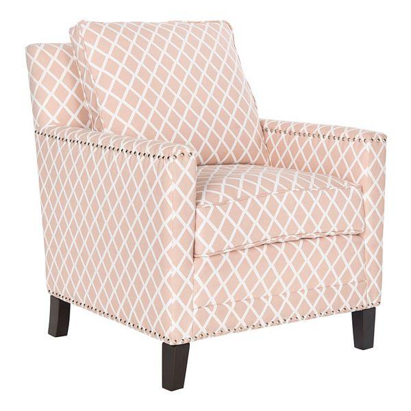 Safavieh Buckler Trellis Club Chair, Chair And Trellis