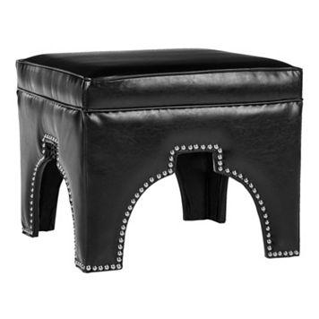 Safavieh Grant Leather Ottoman