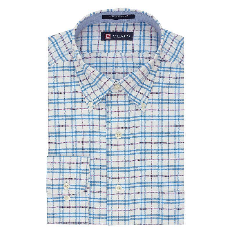 Pink traditional shirt kohl 39 s for Tony collar dress shirt