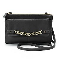 Apt. 9® Curb-Chain Crossbody Bag