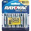 13 Rayovac 12-pk. AA Alkaline Batteries Deals
