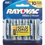 Rayovac 12-pk. AA Alkaline Batteries