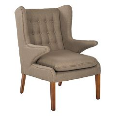 Safavieh Gomer Olive Green Arm Chair