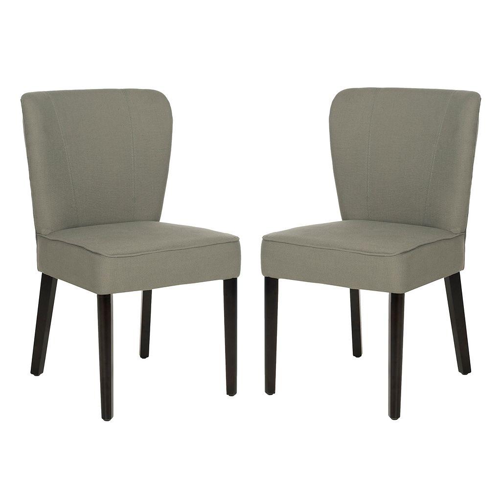 Safavieh 2-pc. Clifford Linen Side Chair Set