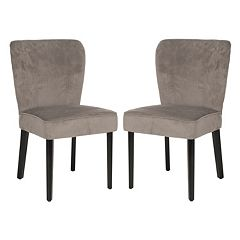 Safavieh 2-pc. Clifford Taupe Side Chair Set by