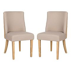 Safavieh 2 pc Judy Taupe Side Chair Set