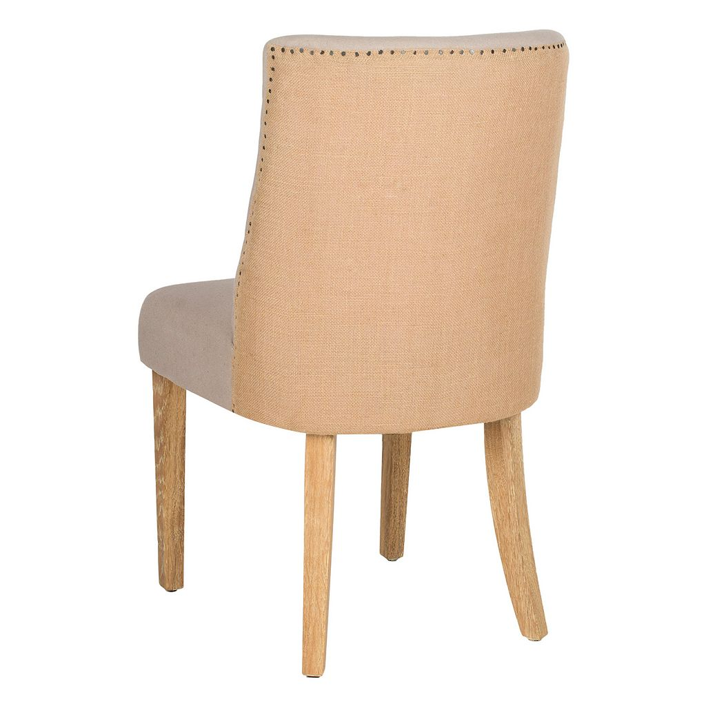 Safavieh 2-pc. Judy Taupe Side Chair Set