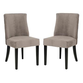 Safavieh 2-pc. Judy Mushroom Side Chair Set
