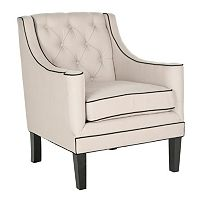Safavieh Sherman Beige Arm Chair