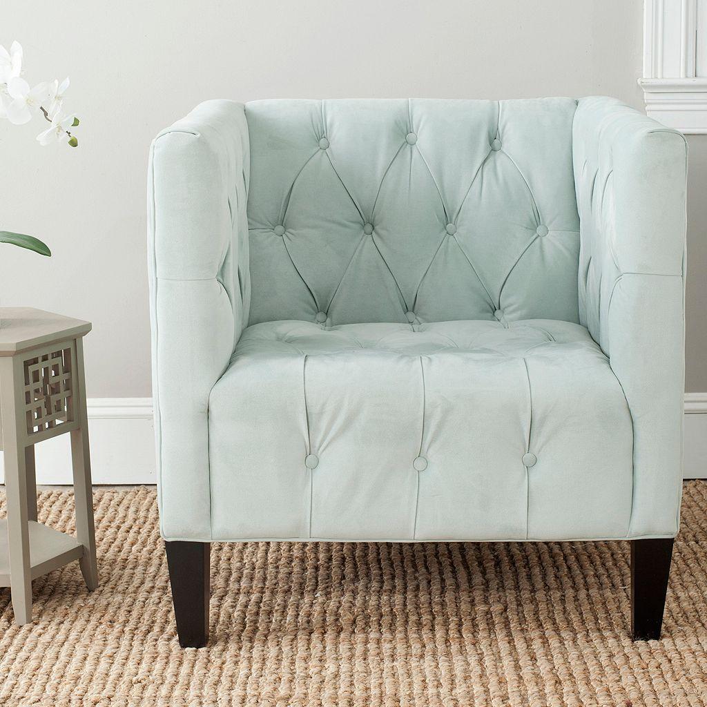Safavieh Glen Silver Sage Club Chair