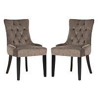 Safavieh 2 pc Abby Mushroom Side Chair Set
