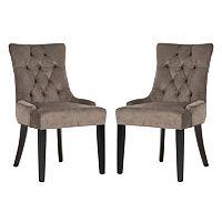 Safavieh 2-piece Abby Mushroom Side Chair Set
