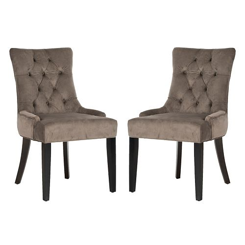 Safavieh 2-piece Abby Mushroom Side Chair Set