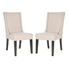 Safavieh 2 pc Sher Linen Side Chair Set