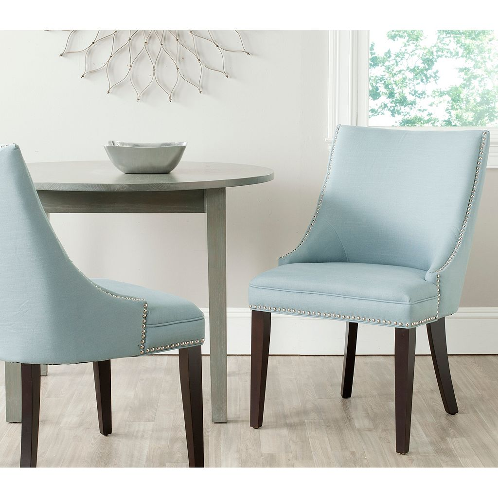 Safavieh 2-pc. Afton Light Blue Side Chair Set