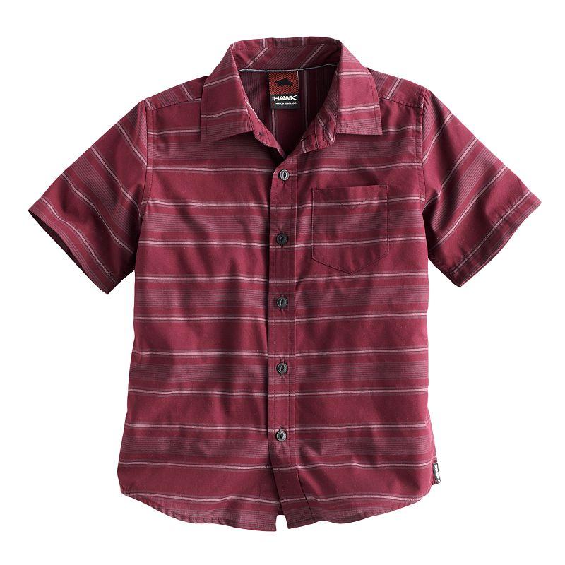 Black striped shirt kohl 39 s for Tony collar dress shirt