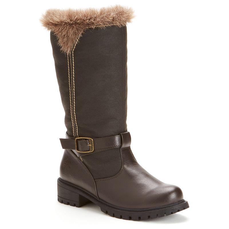Kohls.com Totes Totes Brown Haley Winter Riding Boots