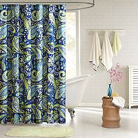 Intelligent Design Kayla Fabric Shower Curtain