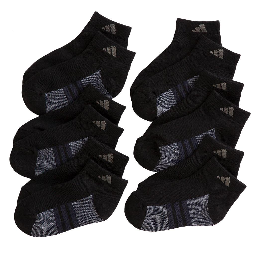 Boys adidas 6-pk. ClimaLite Low-Cut Performance Socks
