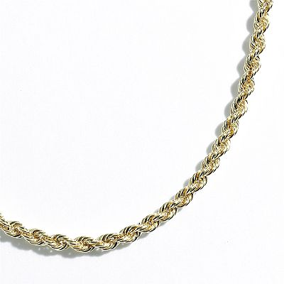 14k Gold Rope Chain Necklace - 18-in.