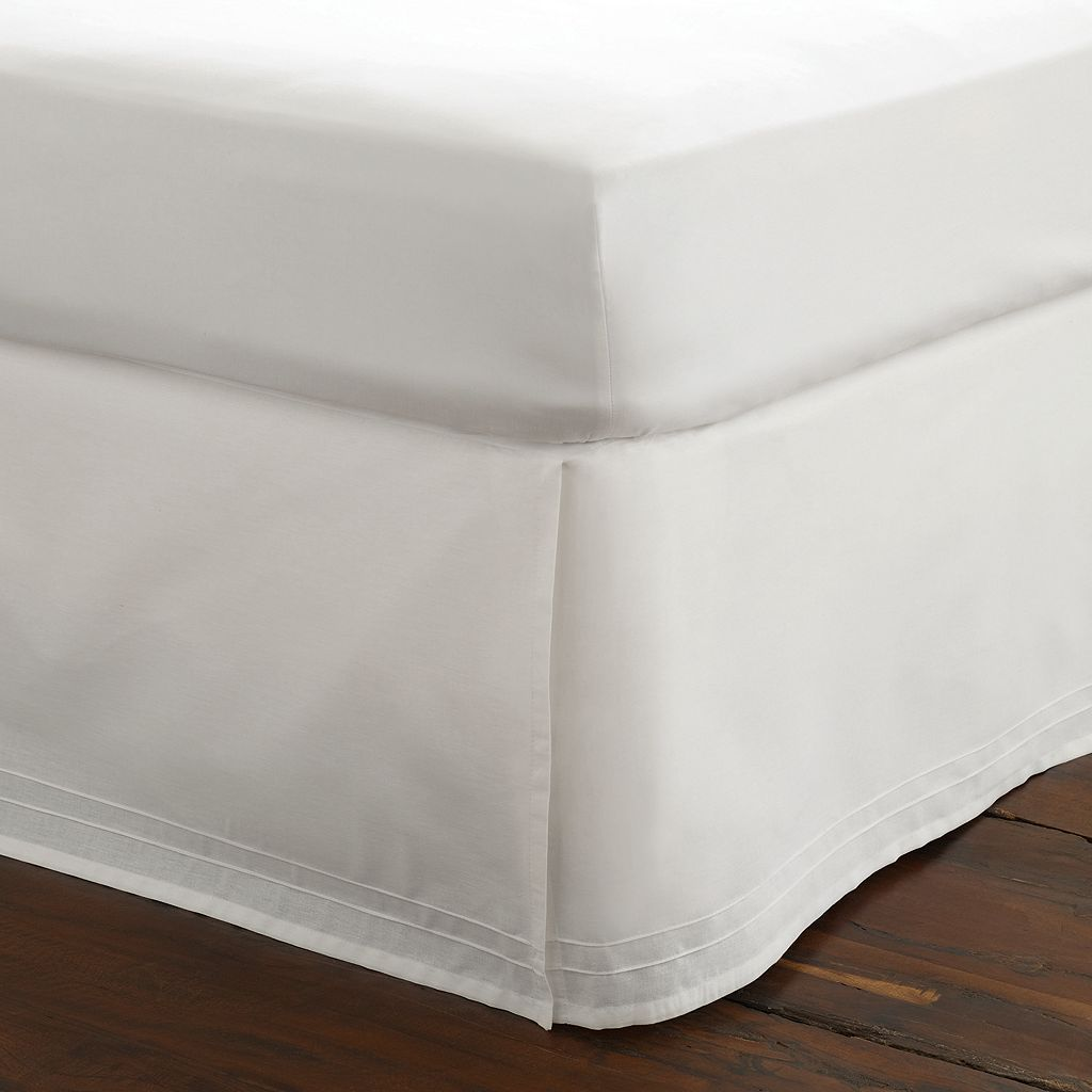 Laura Ashley Lifestyles Pleated Bedskirt - King