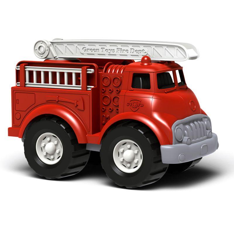 Green Toys Fire Truck, Multicolor