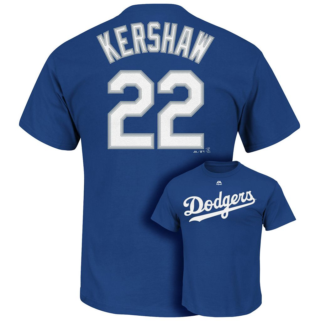 Big & Tall Majestic Los Angeles Dodgers Clayton Kershaw Tee