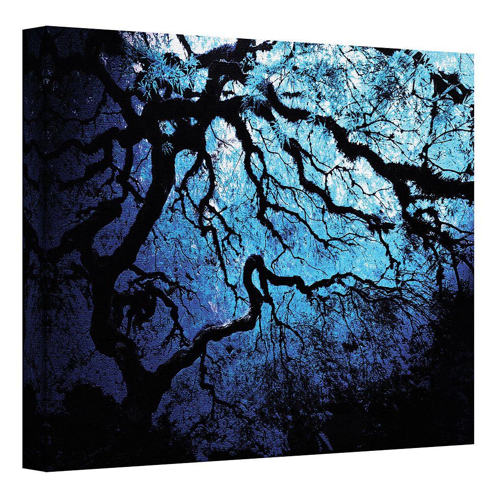 14'' x 18'' ''Japanese Ice Tree'' Canvas Wall Art by John Black