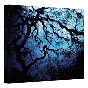 14'' x 18'' ''Japanese Ice Tree'' Canvas Wall Art by John Black