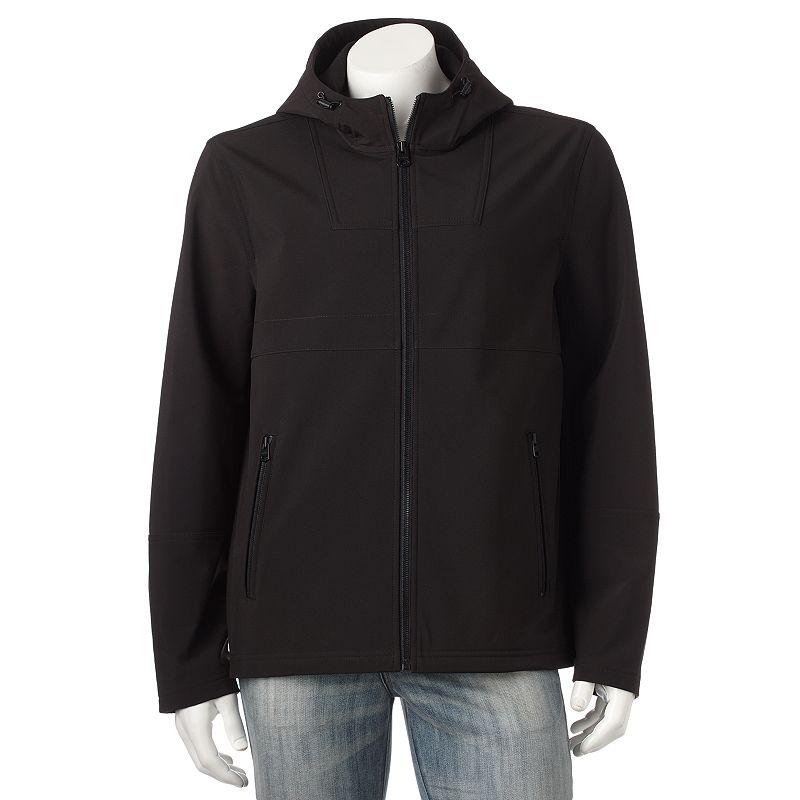 Levi's Softshell Hooded Open-Bottom Jacket - Men